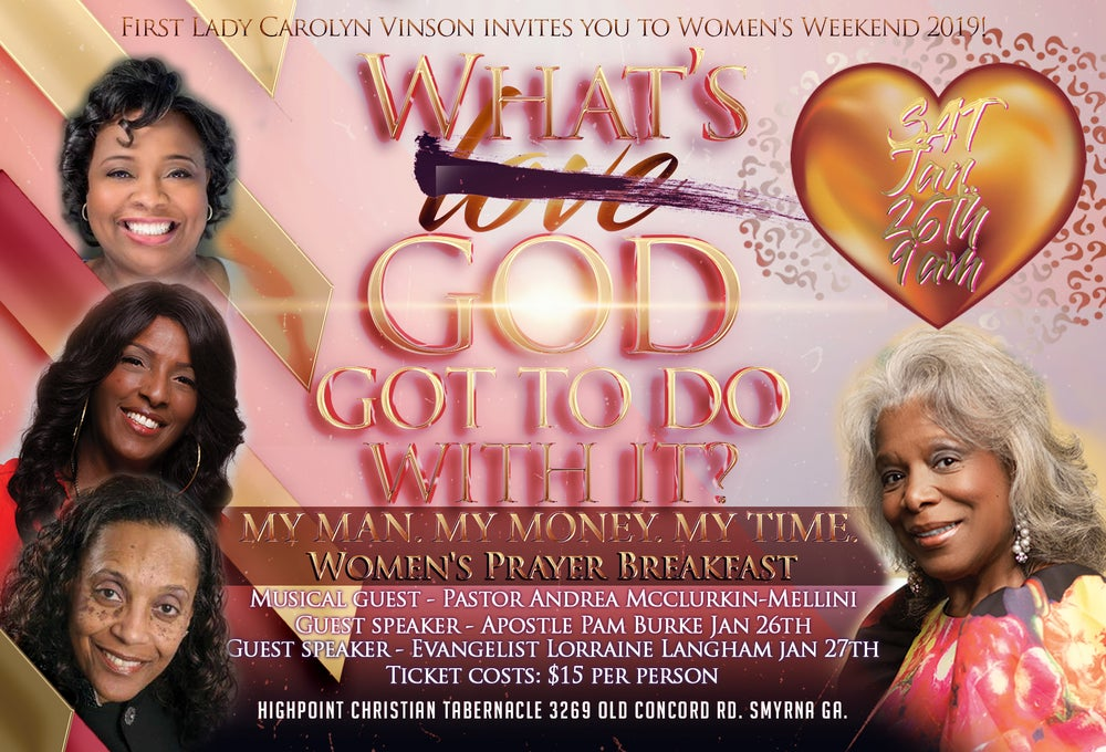 Image of WOMENS PRAYER BREAKFAST TICKETS