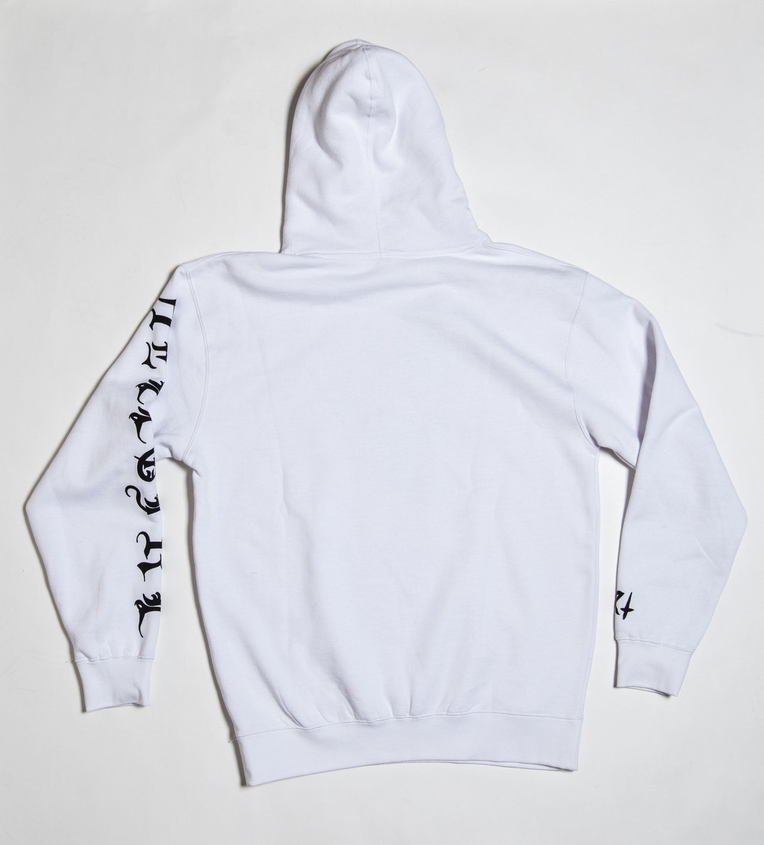 Image of Feminine Dystopia White Hoodie *SOLD OUT*