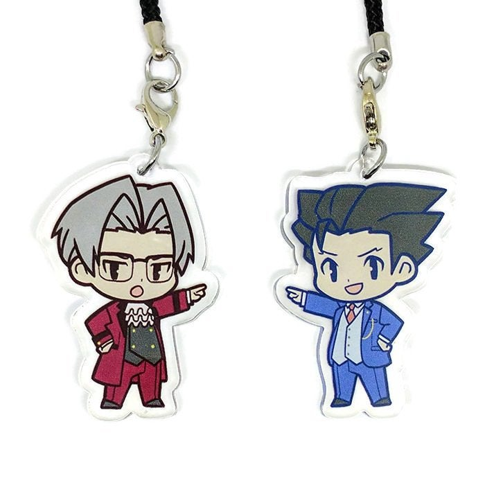 Image of Gyakuten Saiban Acrylic charms
