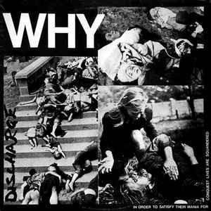"Image of DISCHARGE - ""WHY"" LP"
