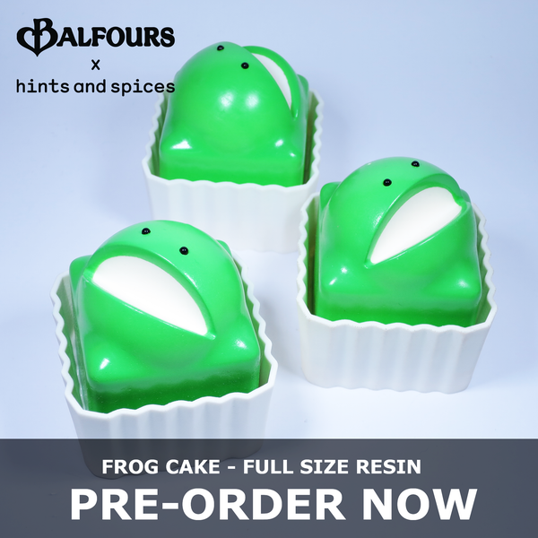 PRE-ORDER: Frog Cake resin (artist production) - Full Size  - Hints and Spices