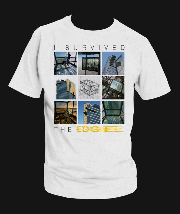 """Image of """"I Survived The EDGE"""" T-Shirt inc. postage*"""