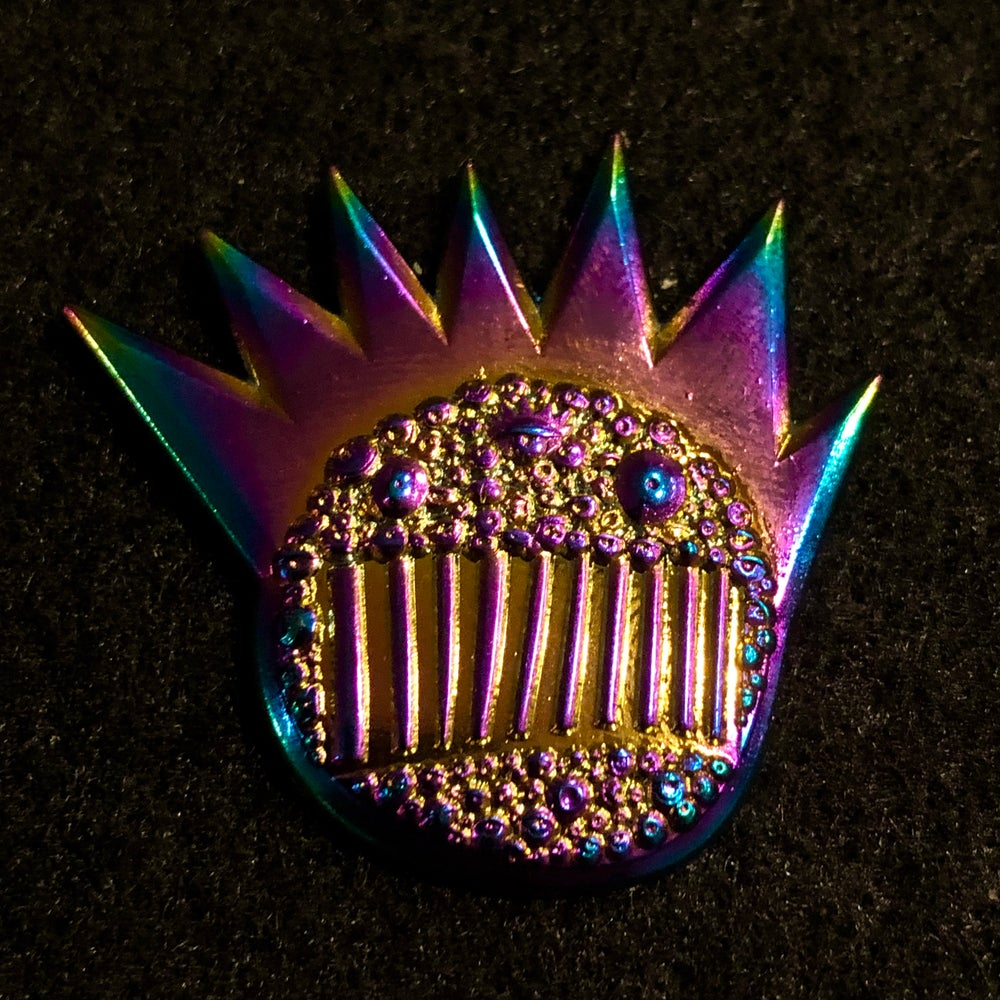 Image of Anodized Argus pin