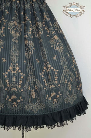Image of Lace & Bees Dress, Black x Gold - Made to Order