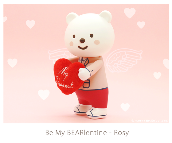 Image of Ordinary Style - Be My BEARlentine (Rosy)