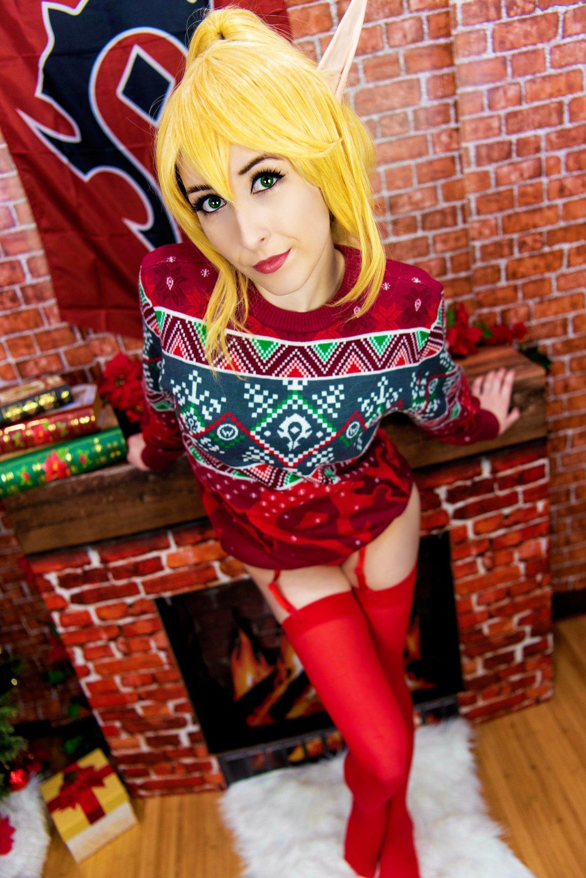 Image of Holiday Blood Elf Set