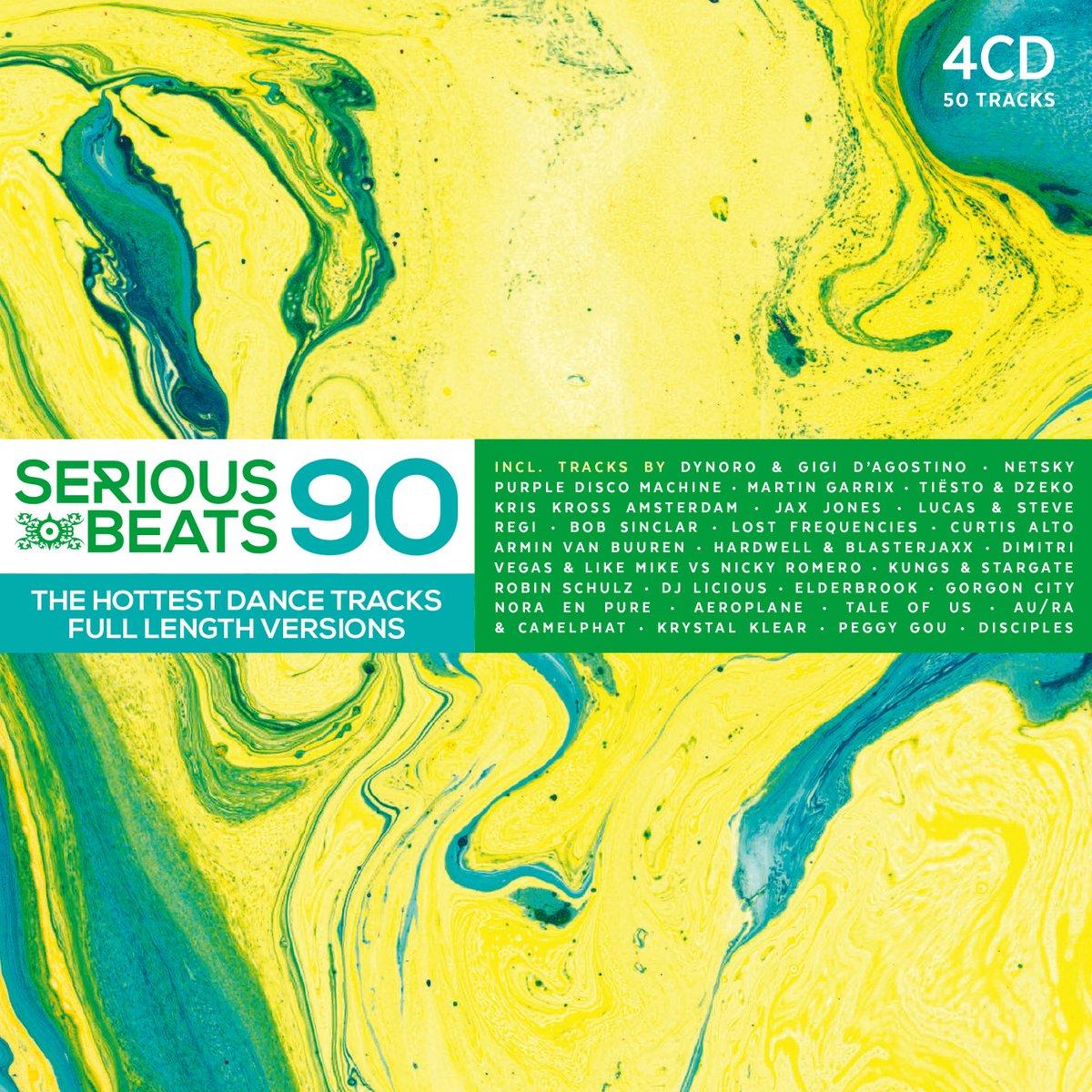 Image of VARIOUS ARTISTS - SERIOUS BEATS 90 (4CD)