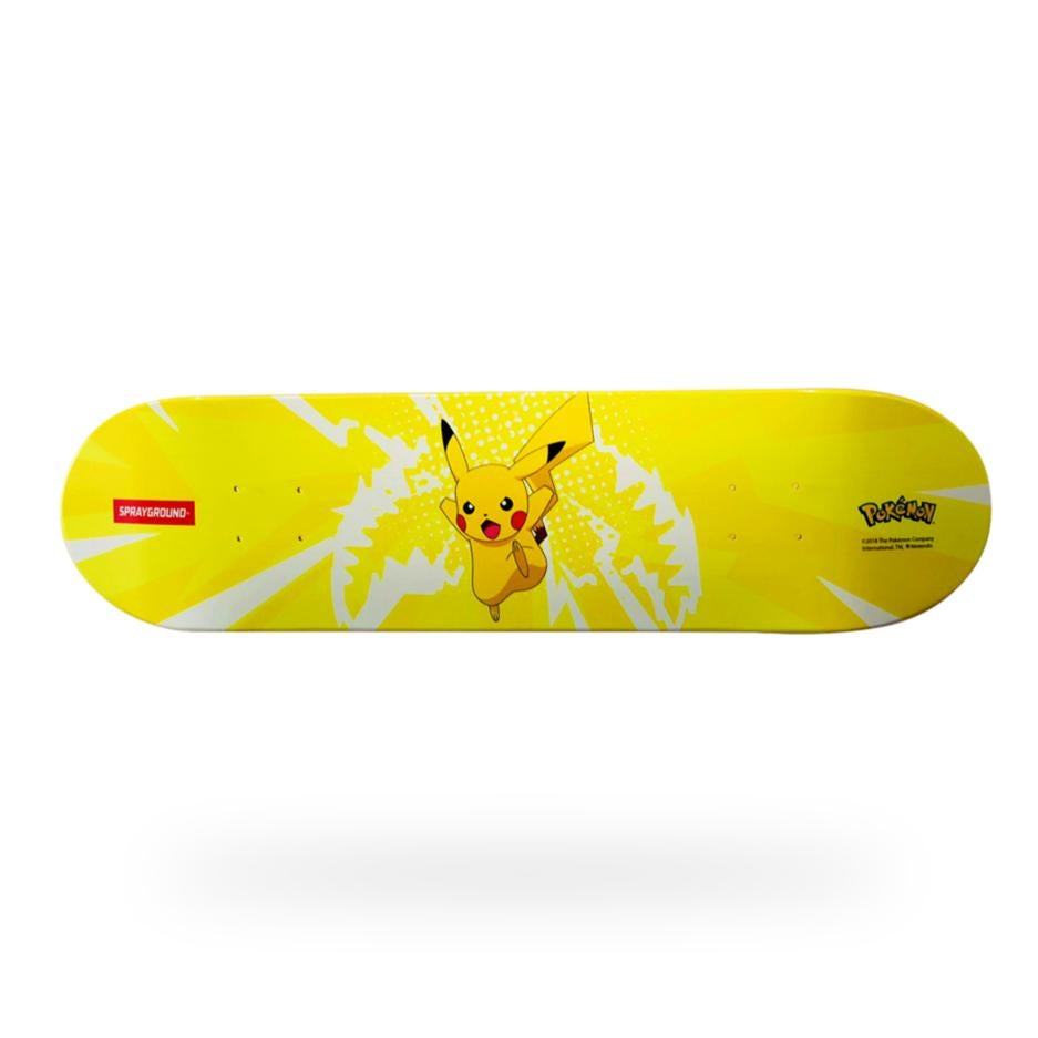 Image of SPRAYGROUND Pokemon PIKACHU Graphic Skateboard Deck