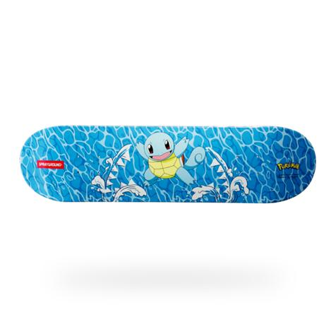 Image of SPRAYGROUND Pokemon Squirtle Graphic Skateboard Deck