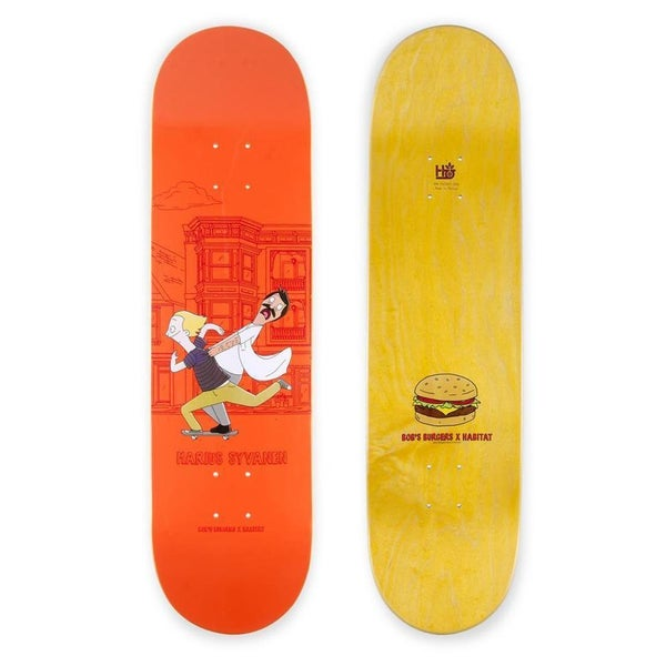 "Image of Habitat Bob's Burgers Marius 7.75"" Skateboard Deck"