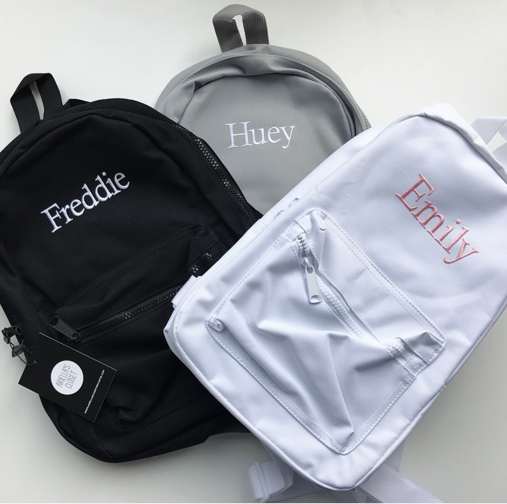 Image of Personalised Mini Backpacks