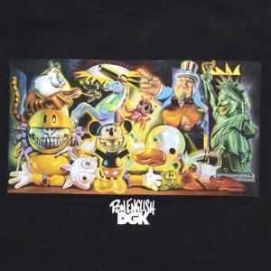Image of DGK X Ron English T-Shirt - Black