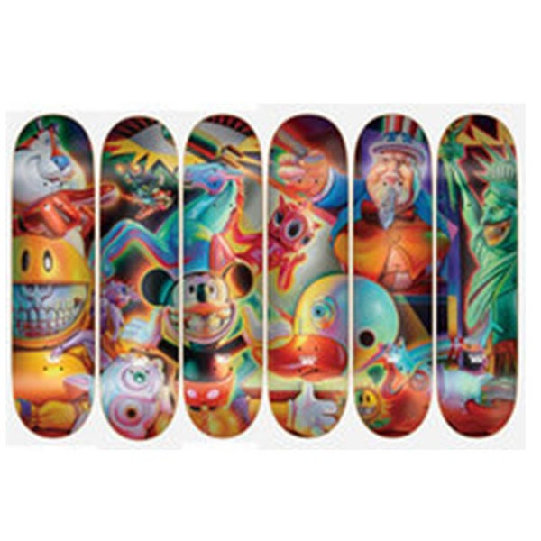 Image of DGK X Ron English Skateboard Decks - FULL SET