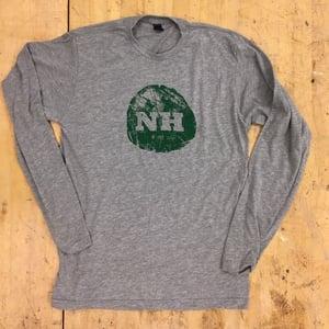 Image of Unisex Tree Stump NH Logo - Long Sleeve
