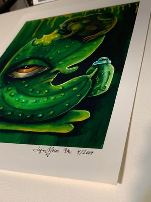 Image of SPECIAL STUDIO SALE! Sour Loser Print with minor damage