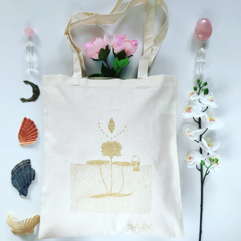 Image of Tote Bag *Fleur de Lotus*