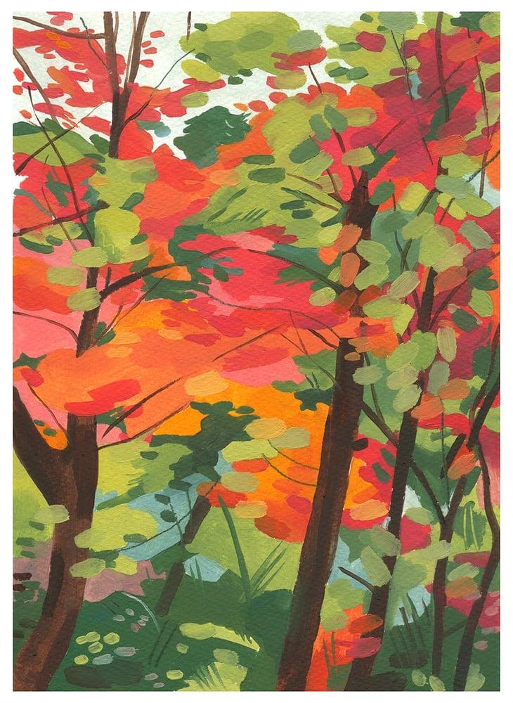 Image of Shinrin Yoku print