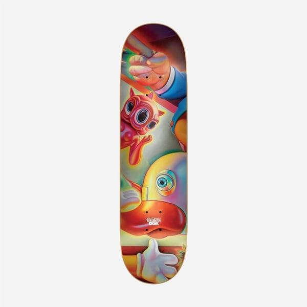 "Image of DGK x Ron English #4 8.0"" Skateboard Deck"