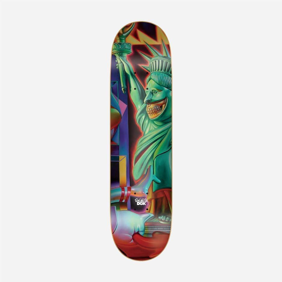 "Image of DGK x Ron English #6 8.25"" Skateboard Deck"