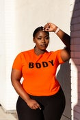 Image of BODY Top-Orange
