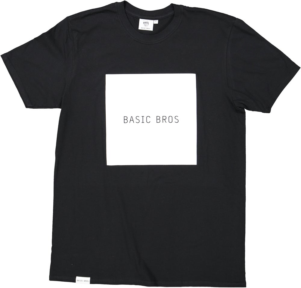 Image of T-SHIRT SQUARE Black