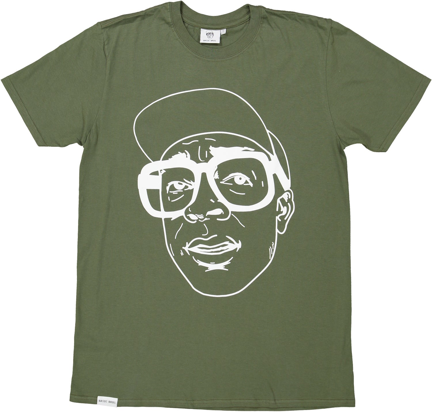 Image of T-SHIRT FACE Olive