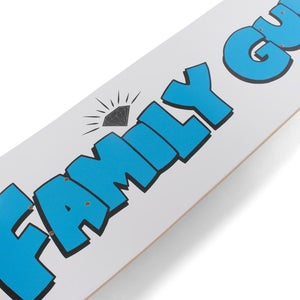 "Image of Diamond x Family Guy 8.25"" Skateboard Deck - White"