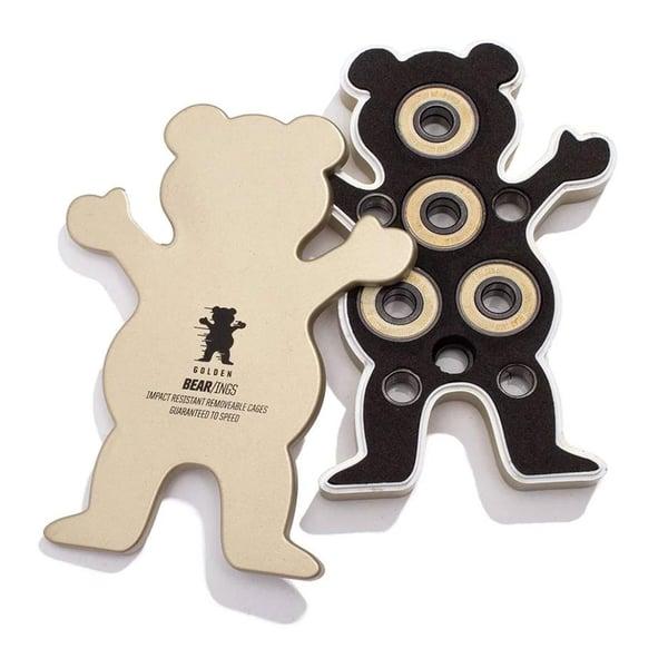 Image of Grizzly Griptape Golden Abec 7 Skateboard Bear-Ings