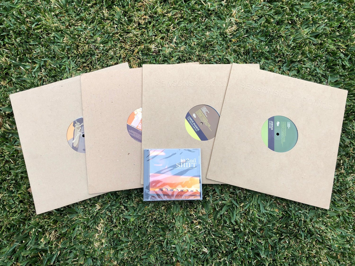 Image of Seasons Recordings 'Classic Vinyl' Collection