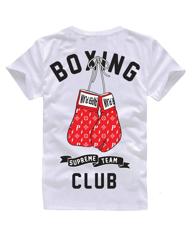 Image of BOXING CLUB TEE WHITE