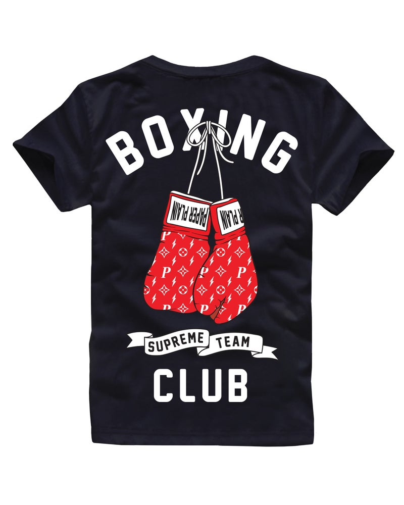 Image of BOXING CLUB TEE BLACK