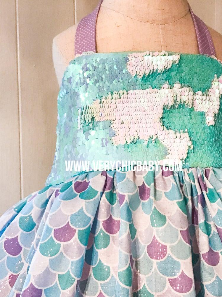 Image of Mermaid Sparkle Dress