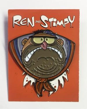 """Image of """"Kowalski"""" Ren & Stimpy Pin"""