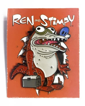 "Image of ""Croco Stimpy"" Ren & Stimpy Pin"