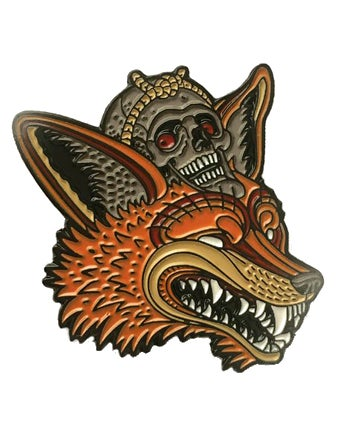 "Image of ""Kitsune"" Pin"