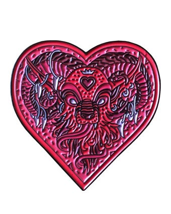 "Image of ""Demon Heart"" pin"