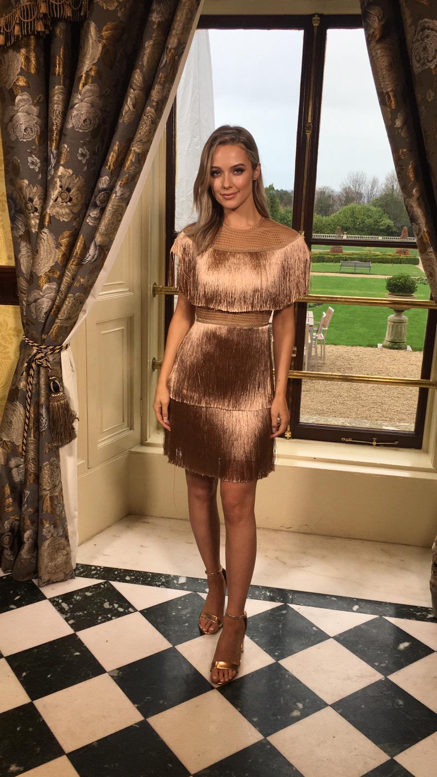 Image of Trina  Fringe Dress