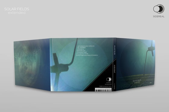 Image of Solar Fields 'Extended' digipack CD