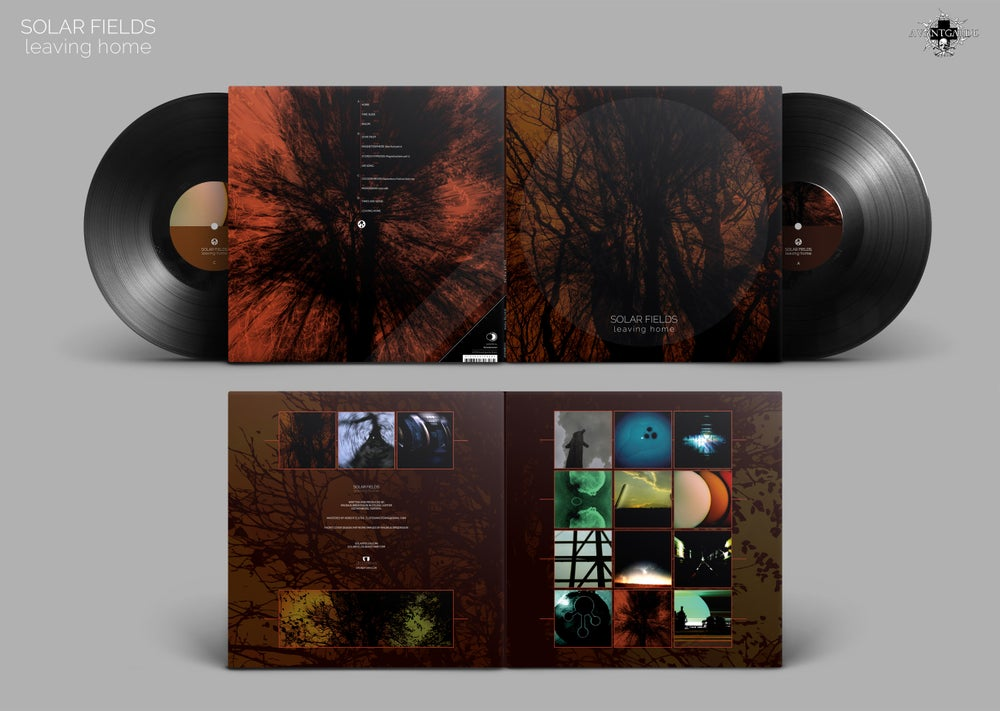 Image of Solar Fields 'Leaving Home' double LP (marble brown/black or classic black)