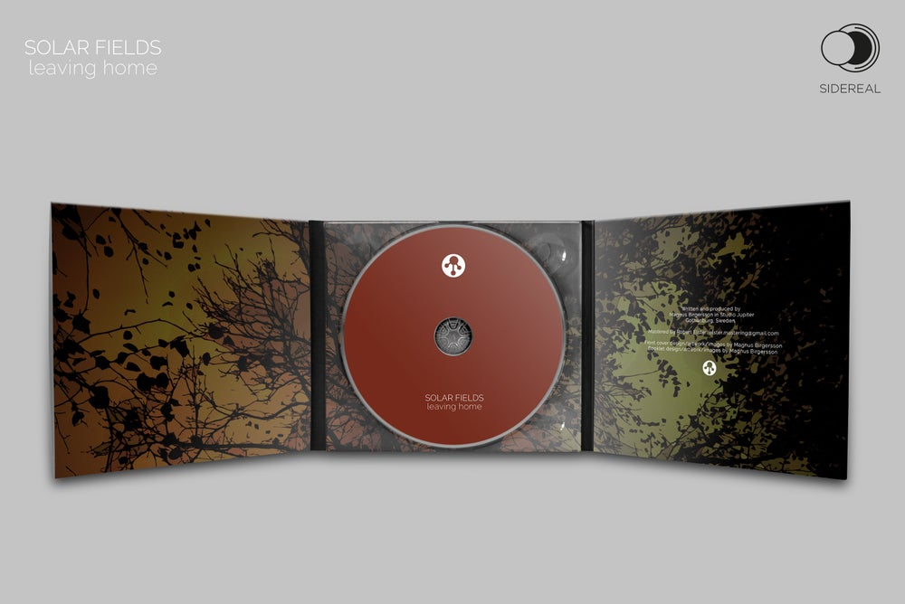 Image of Solar Fields 'Leaving Home' digipack CD