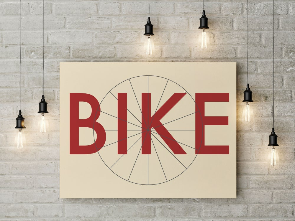 Image of BIKE ART PRINT
