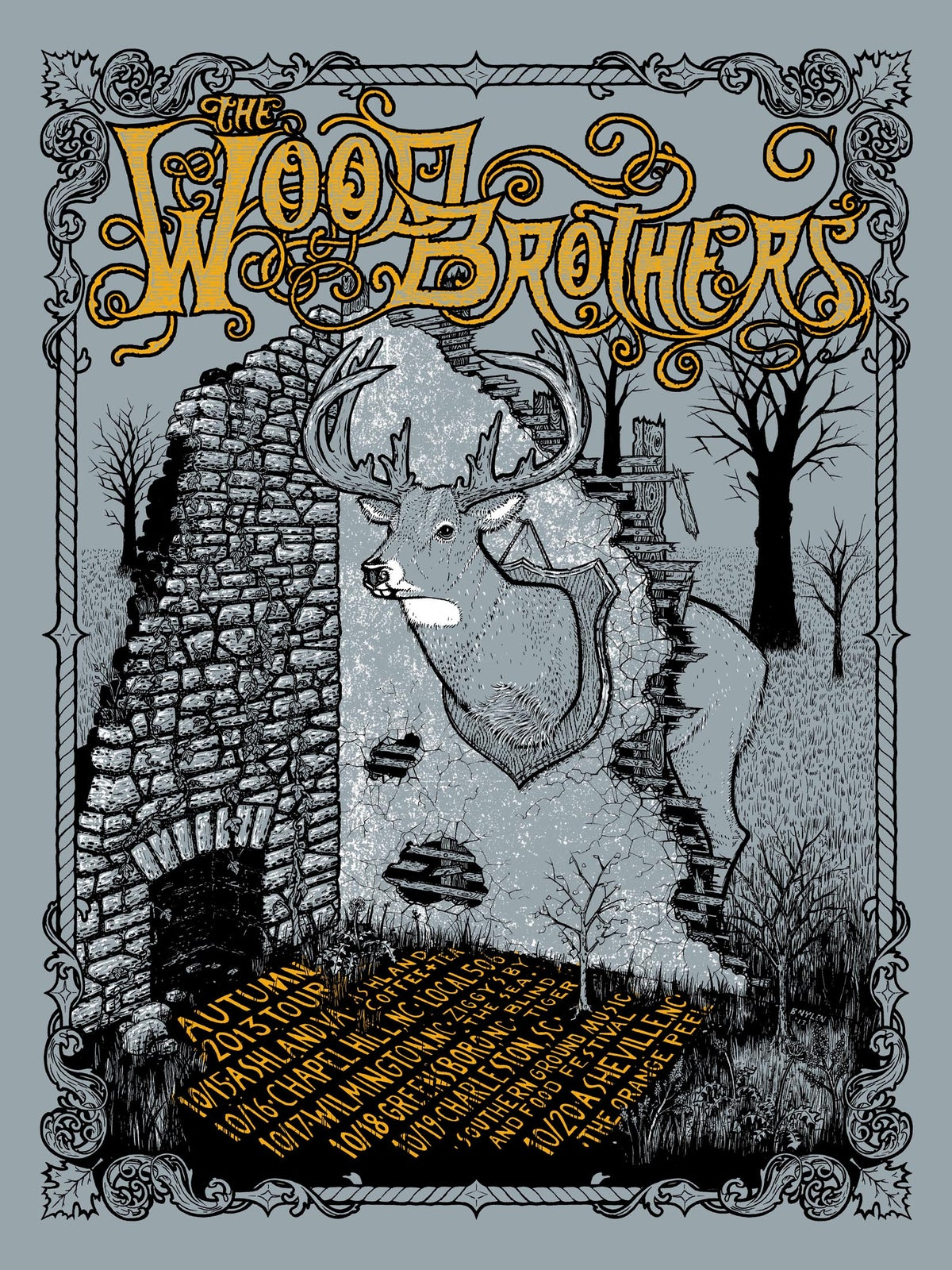 Image of The Wood Brothers, Autumn 2013 Tour