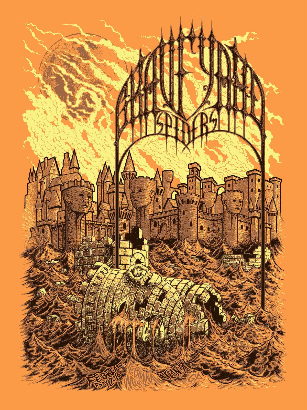Image of Graveyard, Spiders, Terminal West, Atlanta, GA, 2/05/16