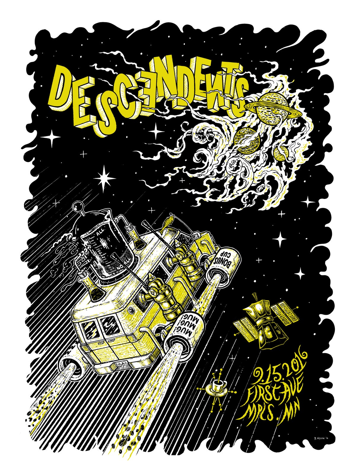 Image of Descendents, First Avenue, Minneapolis, MN, 9/15/16