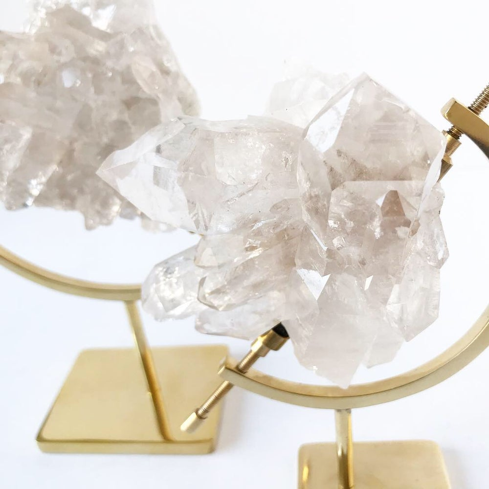 Image of Quartz no.01 Nova Collection Brass Pairing