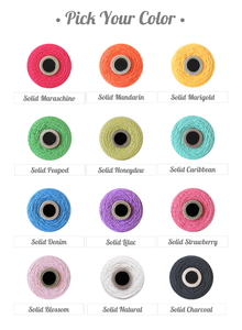 Image of Solid Baker's Twine Spools : Pick Your Color