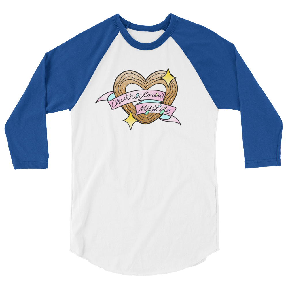 Image of Churro Know My Life Raglan