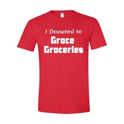 Image of I Donated to Grace Groceries