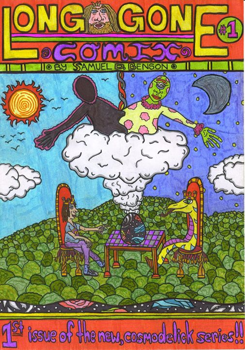 Image of Long Gone Comix #1