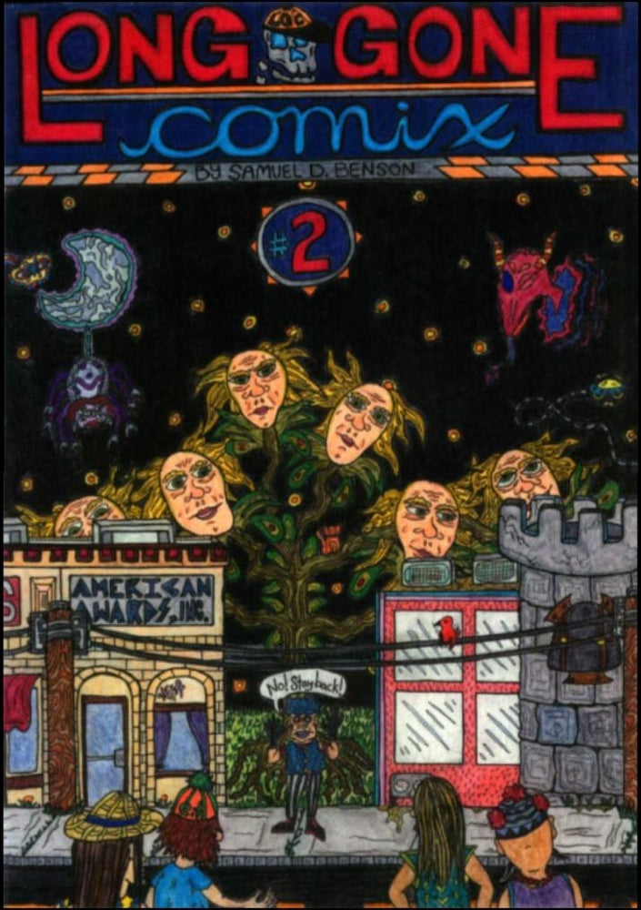 Image of Long Gone Comix #2